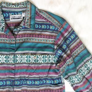 Vintage Cabin Creek Western Shirt